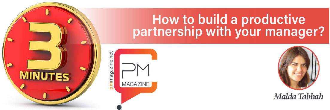 3 min | How to build a productive partnership with your manager?